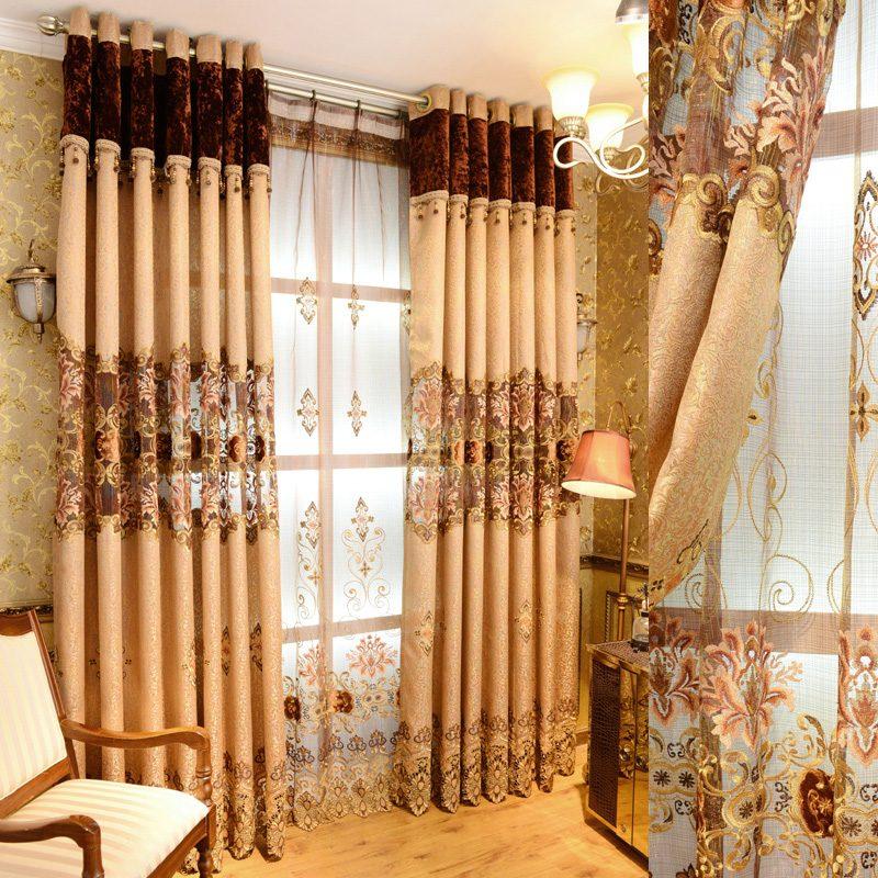 Rideau salon Mozar 3
